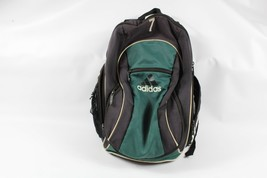 Black Adidas Originals Classic Trefoil Backpack Vintage Rucksack Bag BK2108