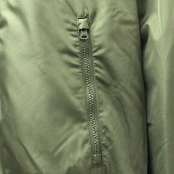 $39.99 Men's Size M  Moss Green Fleece Lined Jacket  - by Merona NWT