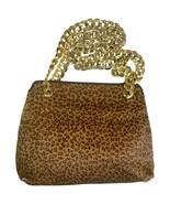Vintage Bottega Veneta genuine leather shoulder bag with allover faux le... - $338.00