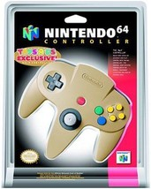 Nintendo 64 Controller Gold Great Condition Fast Shipping - $49.93