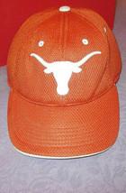 Vtg 90'S University Of Texas Longhorns Licensed Cap Hat Mesh White Stitch Tow - $14.28
