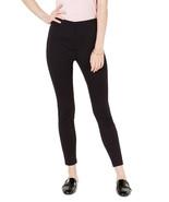 Maison Jules Women's Flocked Dotted Skinny Pants - $34.88+