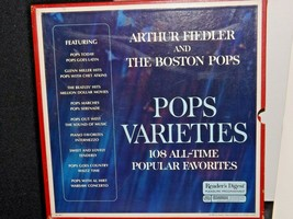 Pops Varieties - Arthur Fiedler And The Boston Pops Records AA-191746 Vintage C