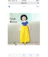 """Snow White Plush 23"""" inches- Princess for Girls -Brand New without Tags - $32.66"""