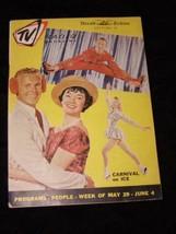 TV Radio Magazine Herald Tribune Newspaper Section 5/29 – 6/4 1960 Carni... - $19.99