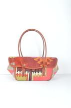 pink kilim bags,rug bas, wool bags , Old handbag ,kilim & bag , Leather ... - $179.00