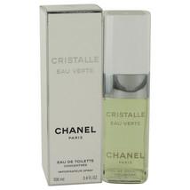 Cristalle Eau Verte Eau De Toilette Concentree Spray 3.4 Oz For Women  - $201.14