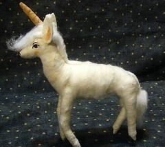 Vintage Inspired Spun Cotton Unicorn image 2