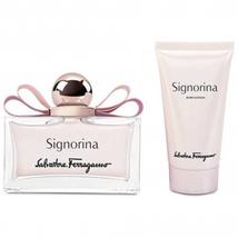 Salvatore Ferragamo Signorina  Spray and Body Lotion (Gift Set 50 ml 1.7 fl.oz ) image 2