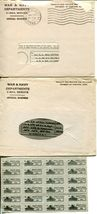 WWII USA Cover V-mail Postage Ration Book Stamps Army Military Collection image 3