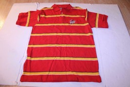 Men's Iowa State Cyclones L Polo Collared Dress Shirt (Striped) J America - $18.69