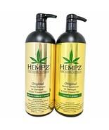 Hempz Pure Herbal Extracts Original Herbal Shampoo & Conditioner 33.8oz DUO - $59.39