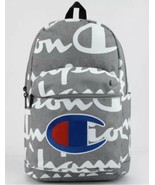 Champion Supercize 2.0 All Over Logo Gray Gym Sports Training Backpack Bag - $79.20