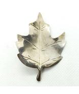 Vintage Stuart Nye Sterling Silver 925 Oak Leaf Brooch Pin FREE Shipping - $22.99