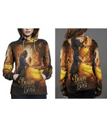 beauty and the beast live action image Hoodie Fullprint Women - $41.80+