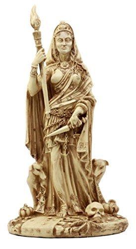 Ebros Gift Pagan Deity Hecate Statue Greek Goddess Of Magic Witchcraft & Necroma