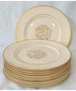 Franciscan China Mid Century Mad Men Rossmore Bread or Dessert Plate Set... - $32.56