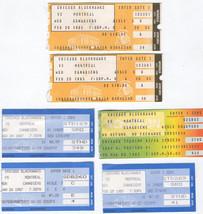 Chicago Black Hawks Vintage Ticket Stubs 1980's Edmonton Flyers Pittsbur... - $14.95