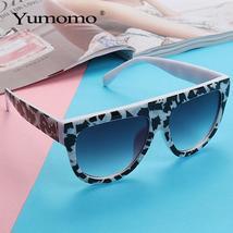 new square sunglasses ladies brand designer retro marble color fashion sunglasse image 3