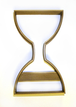 Hourglass Sandglass Sand Timer Clock Measure Cookie Cutter 3D Printed US... - $1.99