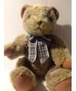 Harrods Knightsbridge Vintage Stuffed Bear Moving Joints Plush - $9.90