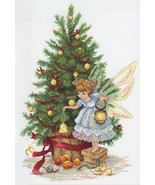 Counted Cross Stitch Hand Embroidery Kit New Year's Fairy - $19.15