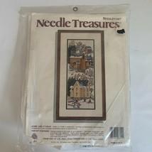 Vintage Needlepoint Some Like it Cold 06611 Needle Treasures Lu Fuller S... - $39.99