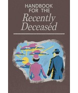 "Handbook For the Recently Deceased Wall Decor Art Poster 24"" x 36"" Free ... - $23.33"