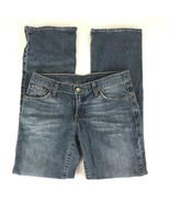 Lucky Brand Womens Jeans Size 28 R Mid Rise Whiskered Medium Wash Stretc... - $24.90