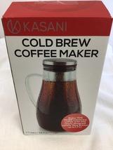 Kasani Cold Brew Coffee Maker 1.7L 58 fl oz 7 cups (KF) - $19.00