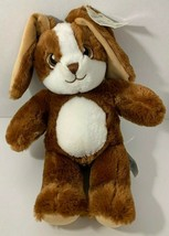 Build a Bear Cocoa Cream Bunny Rabbit Plush brown white stuffed animal 2017 - $24.74