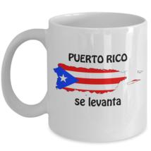 Puerto Rico Se Levanta Coffee Mug Ceramic White 11 oz Boricua Pride PR F... - $19.36