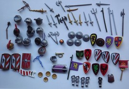 Playmobil Lot of Castle Knight Accessories You Choose - $1.25+