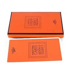 Hermes Cartes a Nouer Knotting Cards Foulard Scarves Guide 21 HOW TO Kno... - $98.01