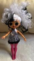 "9"" L.O.L. Surprise! O.M.G. Winter Disco Dollie Fashion Doll Used No Shoe... - $19.80"