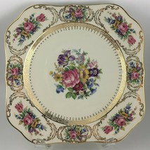Rosenthal Queen's Bouquet Square Luncheon plate  - $25.00