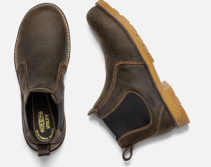 Keen Seattle Romeo Size 11.5 M (D) EU 45 Men's Aluminum Toe Work Shoes 1021344 image 4