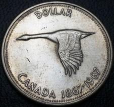 1967 Canada Silver $1 Dollar Coin ***Great Condition*** 80% Silver Coin - $14.47