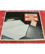 Vintage Pepperell Red Label White Sheets ( 2)  Double Full 81x 99 NOS Orig. Box - $109.20
