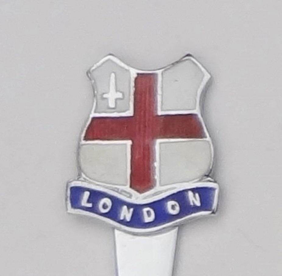 Collector Souvenir Knife Great Britain UK England London Flag Cloisonne Emblem - $7.99