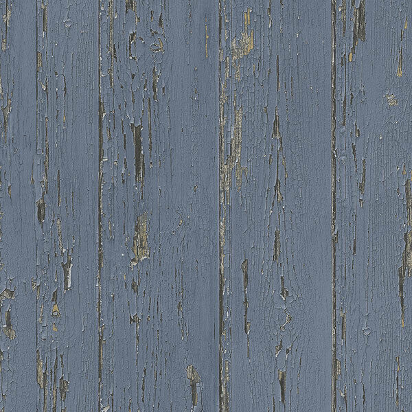 Primary image for Shiplap Wallpaper Dark Blue, Lapis Lazuli, Indigo, Indigo Blue Norwall Wallcover