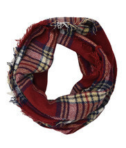 Classic Plaid & Check Infinity Scarf - £5.58 GBP+