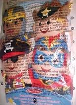 """Melissa & Doug Bold Buddies 8"""" Hand Puppets Pack of 4 Pirates Sheriff 19... - $34.64"""