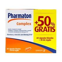 Pharmaton Complex 90 caps - Vitamin Supplement to Strengthen your Defenses - $32.64