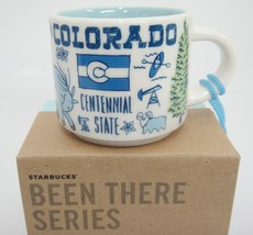 Starbucks MINI Colorado Been There Mug Ornament 2 oz Blue NIB - $20.78