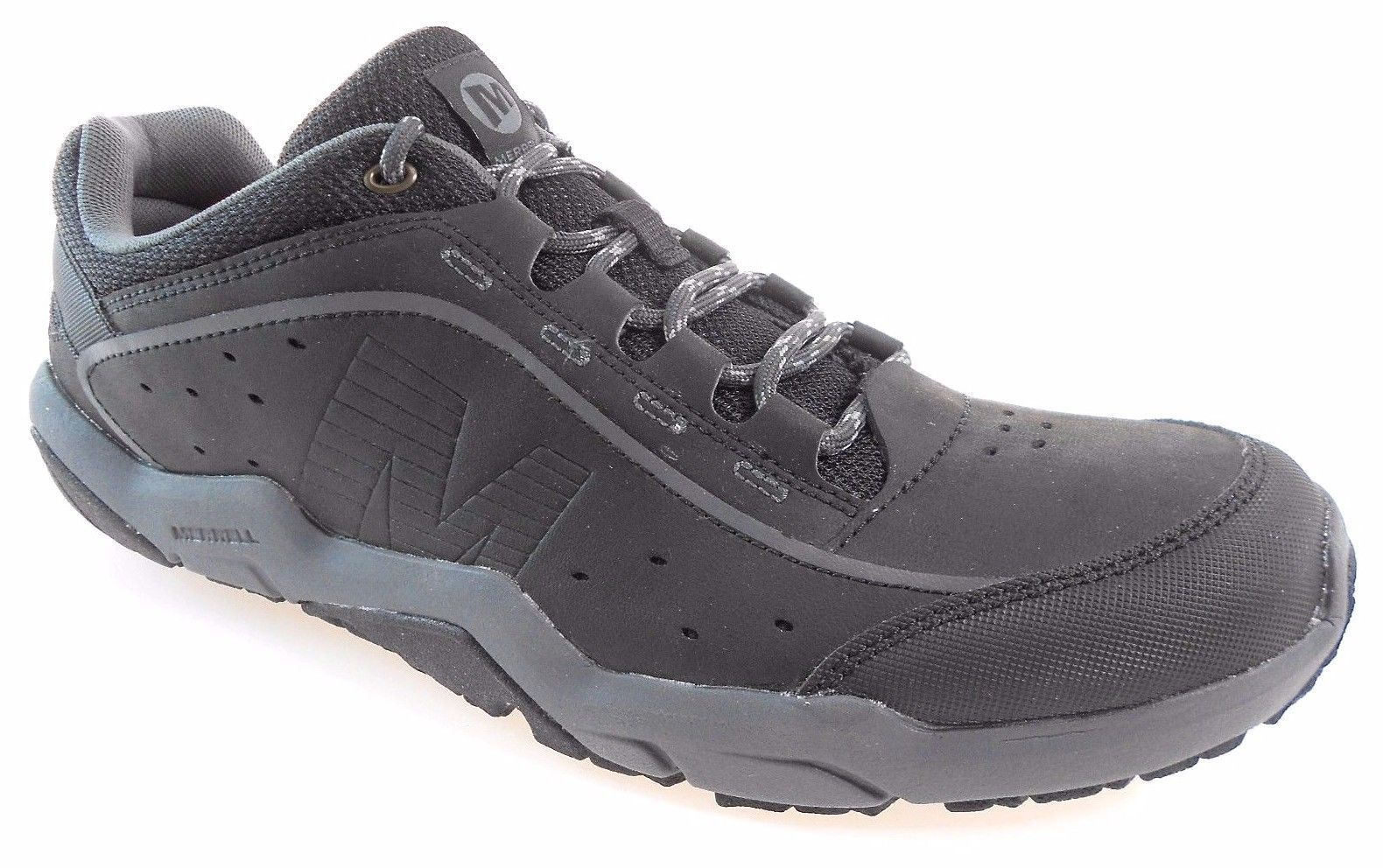 MERRELL TRAVERSO MEN'S BLACK HIKING SHOES, J308366C