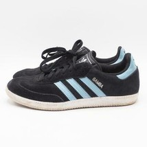 Adidas Samba Calcio Scarpa Taglie 7.5 Blu Scamosciato - $49.49