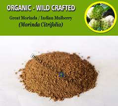 POWDER Great Morinda Fruits Indian Mulberry Noni Morinda Citrifolia Orga... - $7.85+