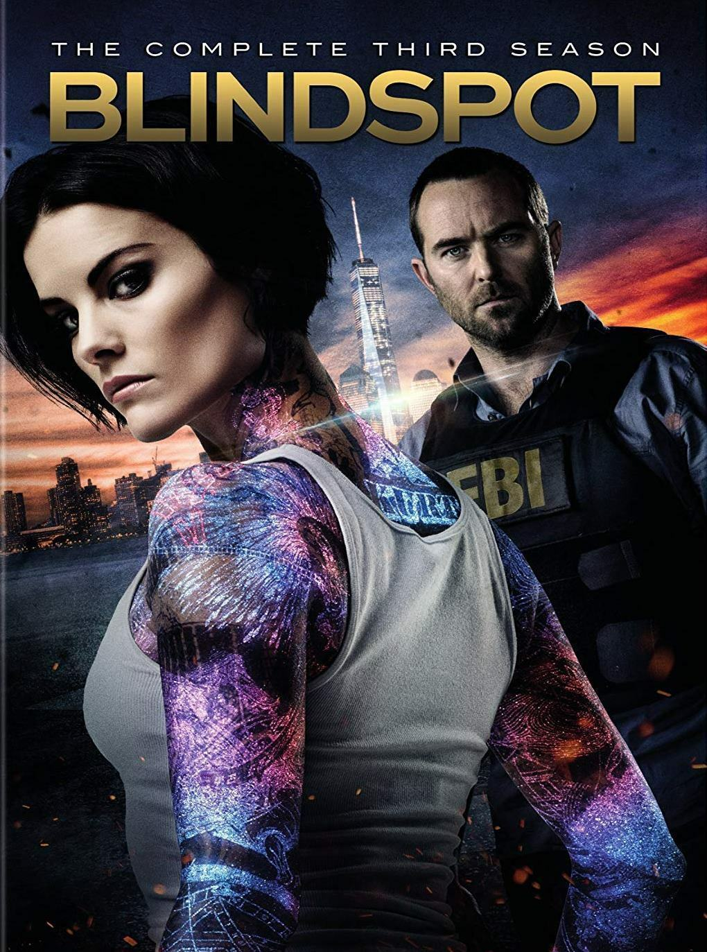 Primary image for Blindspot Season 3 (DVD 2018, 4-Disc Set) BRAND NEW/FACTORY SEALED