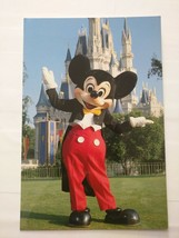 Vintage Walt Disney World Mickey Mouse Welcome To Magic Kingdom Postcard - $14.85